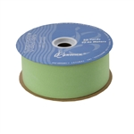 Apple Green Veltex flocked polypropylene ribbon