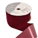 Burgundy Veltex flocked polypropylene ribbon