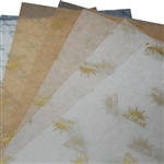 Waxed Tissue Paper Food Sheets - Custom Printed (30,000 Sheets)