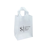 Personalized Wedding Reception Bags - Frosted Clear