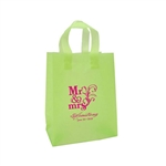 Personalized Wedding Reception Bags - Frosted Lime