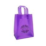 Personalized Wedding Reception Bags - Frosted Purple
