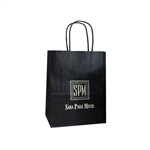 Personalized Wedding Reception Bags - Black