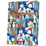 Gift Wrap Winter Fun Pattern X-4211