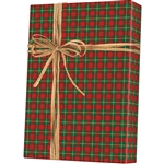 Gift Wrap Plaid Pattern X-5710