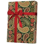Shamrock Gift Wrap Holiday Paisley X-6310