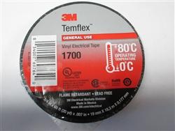 3m Temflex 1700 General Use Vinyl Electrical Tape 3 4 Quot X