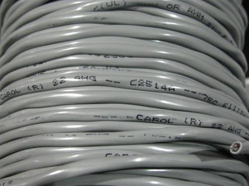 CAROL-C2514 22G 2C O/S PVC Multi-Conductor, Foil Shield CABLE