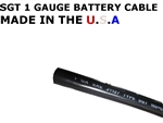 SGT 1 AWG BATTERY CABLE