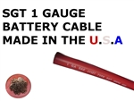 SGT 1 AWG BATTERY CABLE RED