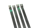 "8"" Stainless steel cable ties 250LB S.S"