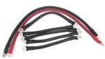 1ga Golf Cart Battery Cable Set- EZ GO 94 & UP COMPLETE