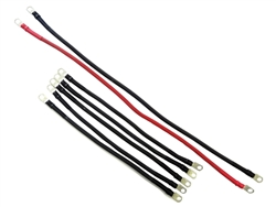 4ga CLUB CAR GOLF CART BATTERY CABLE SET 48V