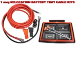 SGT Battery Relocation Kit, # 1 awg