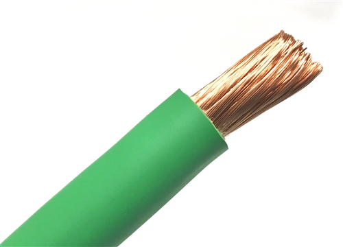 10 welding cable green