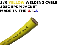 1/0  WELDING CABLE YELLOW