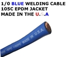1/0  WELDING CABLE BLUE
