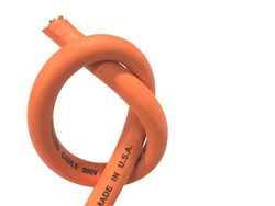 1/0 WELDING WHIP CABLE ORANGE