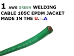 1 AWG WELDING CABLE GREEN