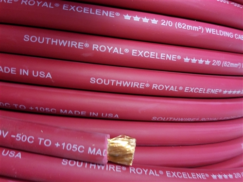 20 cci royal excelene welding cable red greentooth Images