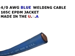 4/0  WELDING CABLE BLUE