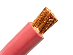 4 AWG EPDM WELDING & BATTERY CABLE RED