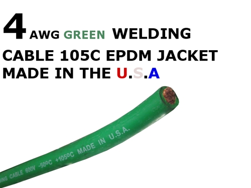 4 awg green welding cable larger photo email a friend keyboard keysfo