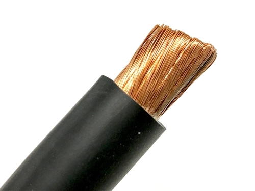 5/' FT 4//0 WELDING BATTERY SOLAR CAR CABLE SAE J1127  BLUE MADE IN USA NEW COPPER