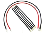 4 awg CLUB CAR GOLF CART DS IQ BATTERY CABLE SET