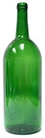 1.5 Lt. Wine Bottles Green - 6/case  |  love2brew.com