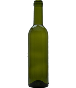 375 ml. Wine Bottles - Semi-Boreeaux Green - 24/case  |  love2brew.com