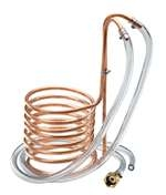 Copper Immersion Wort Chiller 20'  |  love2brew.com