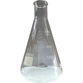 Erlenmeyer Flask - 2000mL  |  love2brew.com