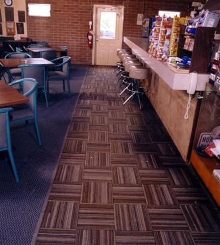 Dura-Tile II recycled tire matting