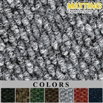 "TILE 19 11/16"" x 19 11/16"" Pin Carpet Matting"