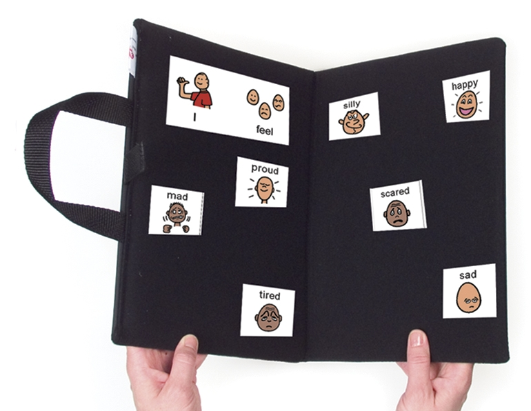 communication folder portable bi fold