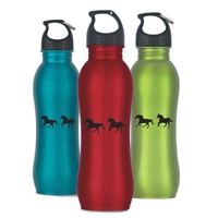 Running Horse Stainless Steel Water Bottles