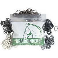 Mane and Tail Braid Binders