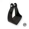 DP Saddlery Black Endurance Stirrups Padded
