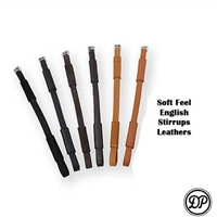 Soft Feel English Stirrups Leathers