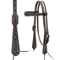 Weaver Leather Vintage Paisley Headstalls