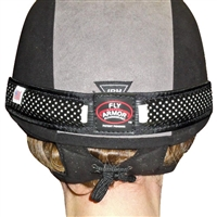 Fly Armor Helmet Bands With 2 Insect Repellent Pad Inserts