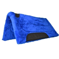 Mustang Fleece Western Saddle Pads