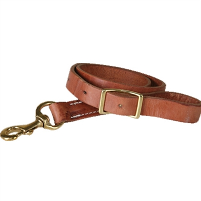 "Cactus Saddlery Leather 1"" Tie Down Straps"