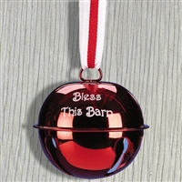 Ornaments - Bell - Bless This Barn