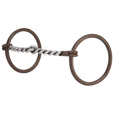 Weaver Leather Antique Twisted Wire Snaffle Bits