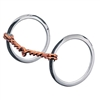 Weaver Leather Single Twisted Copper Wire Snaffle Bits