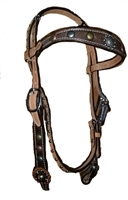 Alamo Saddlery Chocolate Headstalls