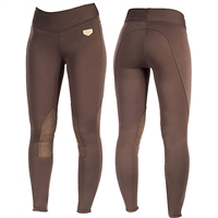 Horze Equestrian Active Women's Knee Patch Winter Tights