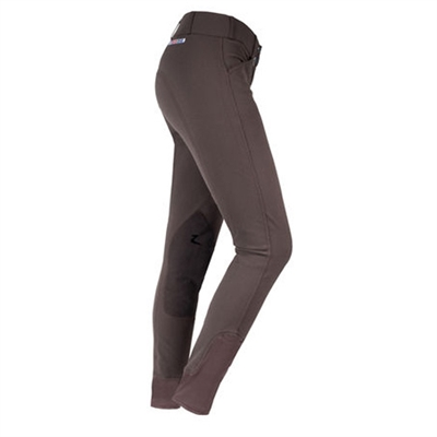 Horze Grand Prix Womens Extend Leather Knee Patch Breeches 36574